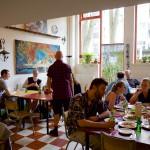 ヴィーガン店の草分け的存在・隠れ家レストラン「 Robin Food Kollektief 」アムステルダム・オランダ